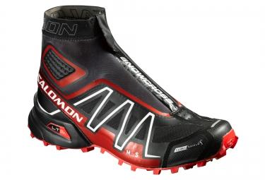 salomon snowcross cs noir rouge