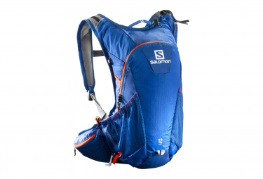 sac a dos salomon agile 12 set bleu orange