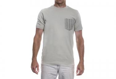 lebram t shirt pocket bike gris