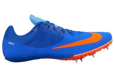 nike zoom rival s 8 bleu orange unisex