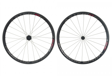 paire de roues asterion carbon sport 35c pneu roue libre shimano sram
