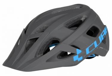 casque cube am race gris bleu