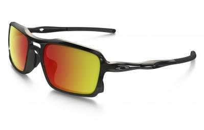 lunettes oakley triggerman noir rouge iridium ref oo9266 03