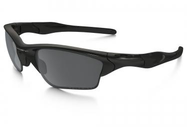 oakley lunettes half jacket 2 0 xl noir brillant noir iridium polarise ref oo9154 05