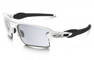 lunettes oakley flak 2 0 xl blanc photochromique ref oo9188 51