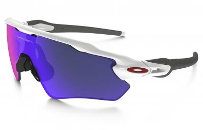 lunettes oakley radar ev path blanc violet iridium ref oo9208 18