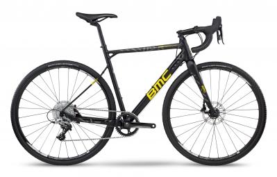 velo de cyclocross bmc crossmachine cxa01 2017 sram rival 11v noir jaune