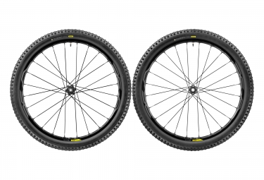 paire de roues vtt mavic xa elite 27 5 noir axes 15mm 9mm av 142x12mm 135x9mm ar shi