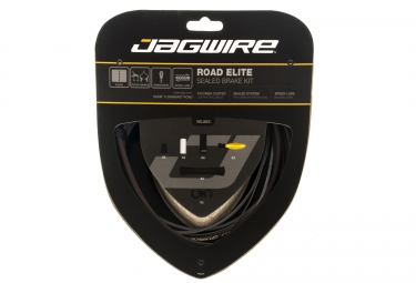 kit cables gaines de freins complet jagwire road elite sealed marron