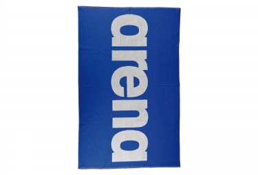 serviette arena handy bleu blanc
