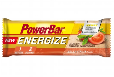 powerbar barre energize c2max 55gr tomate
