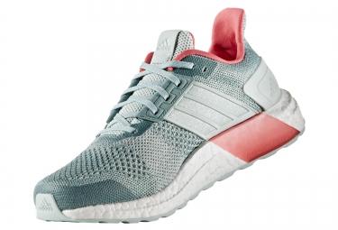 adidas running ultra boost st vert rose femme