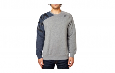 sweat fox race gris bleu