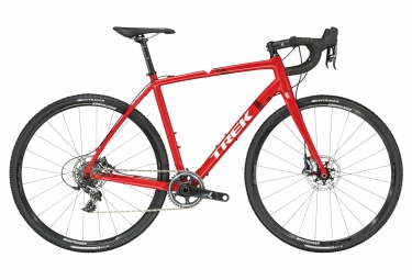 velo cyclo cross trek crockett 7 disc 2017 sram force cx1 rouge