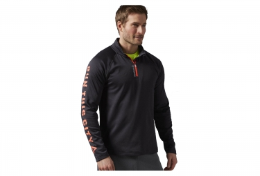 veste reebok essentials zip 1 4 noir