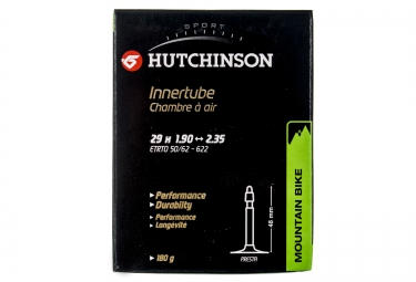 hutchinson chambre a air butyl 29 x 1 90 2 35 presta 48 mm