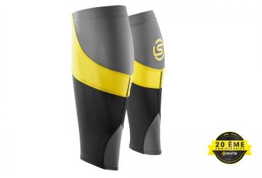 manchons de compression skins essentials mx noir jaune