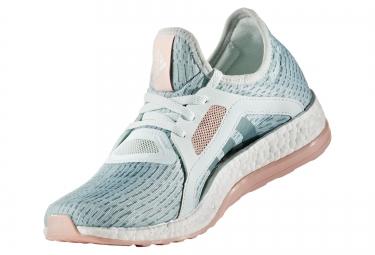 adidas running pure boost x vert rose femme
