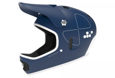 casque integral poc cortex flow bleu