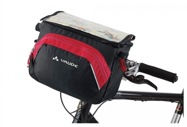 sacoche guidon vaude road 2 noir rouge