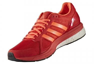 adidas running adizero tempo 8 rouge orange homme