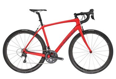 velo route trek 2017 domane sl 6 pro shimano ultegra 11v rouge