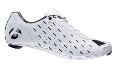 chaussures route bontrager classique 2017 blanche