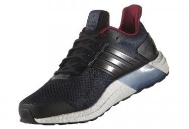 adidas running ultra boost st bleu noir homme