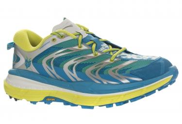 hoka speedgoat trail bleu jaune