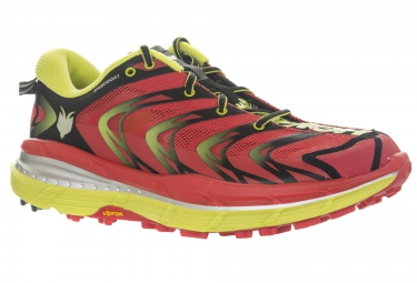 hoka speedgoat trail rouge jaune