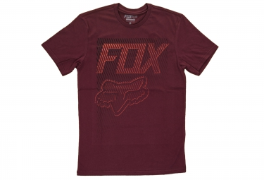 t shirt fox fractured rouge