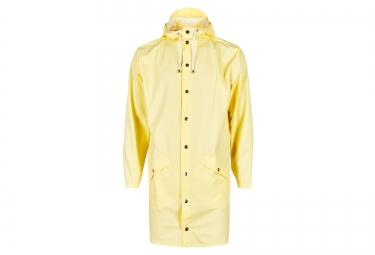 veste rains long jacket jaune