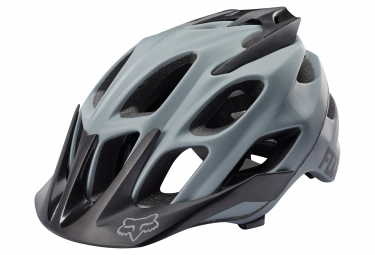 casque all mountain fox flux gris noir