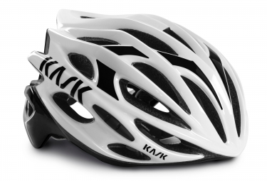casque kask mojito blanc noir