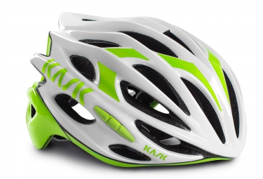 casque kask mojito blanc vert