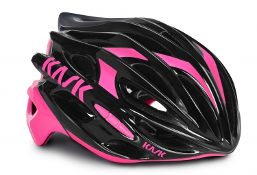 casque kask mojito noir rose