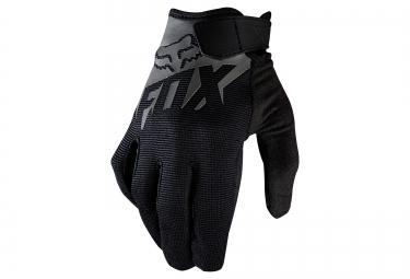 gants longs enfants fox ranger noir gris
