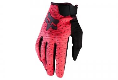 gants longs femme fox ripley rose