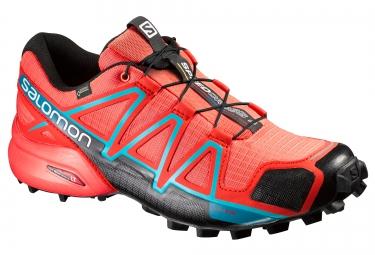 salomon speedcross 4 gtx orange femme