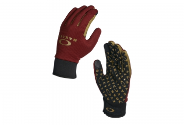 gants longs oakley ellipse park rouge