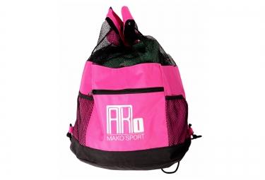 sac de piscine mako mesh bag rose