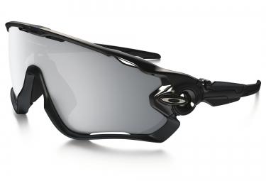 lunettes oakley jawbreaker halo collection noir chrome iridium ref oo9290 19