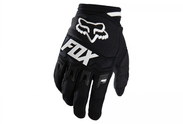 gants longs enfants fox dirtpaw noir