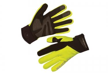 gants hiver endura strike ii jaune