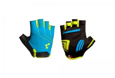gants courts cube natural fit bleu jaune noir
