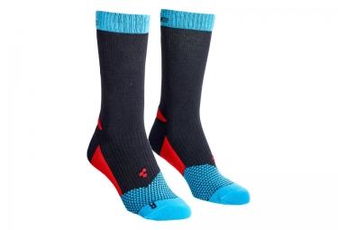 chaussettes cube action noir bleu