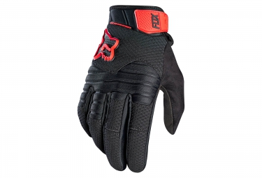 gants hiver fox sidewinder polar noir rouge