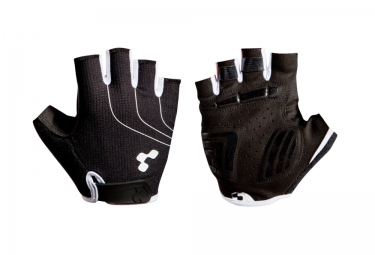 gants courts cube natural fit noir blanc