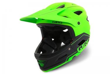 casque avec mentonniere amovible giro switchblade mips vert noir