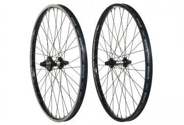 paire de roues cruiser pride racing rival pro sx 24 noir